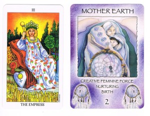 Empress and Mother Earth cards